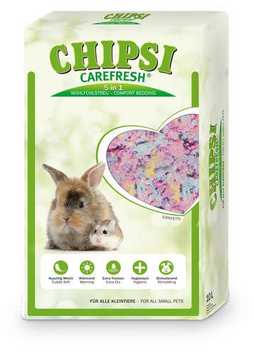 Chipsi Carefresh Confetti 10l -monivärisekoitus.