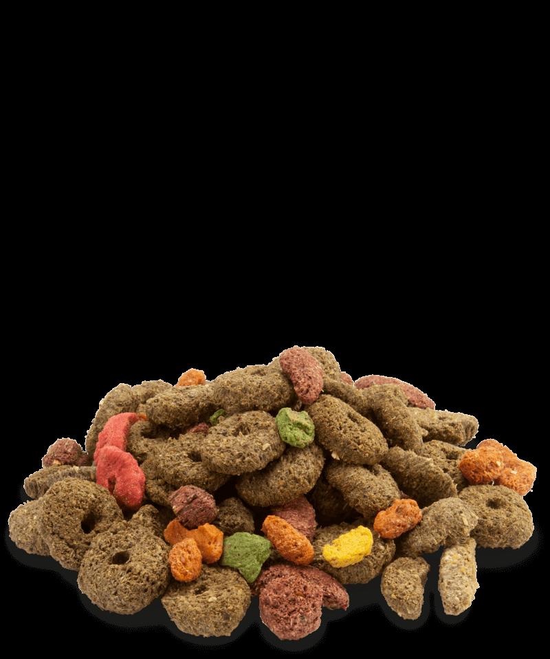 VL crispy snack fibres
